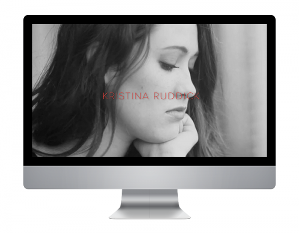 Kristina Ruddick Website
