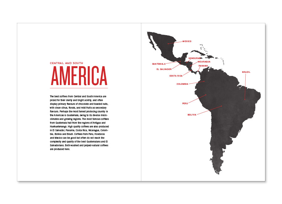 A Guide to Coffee Central and South America